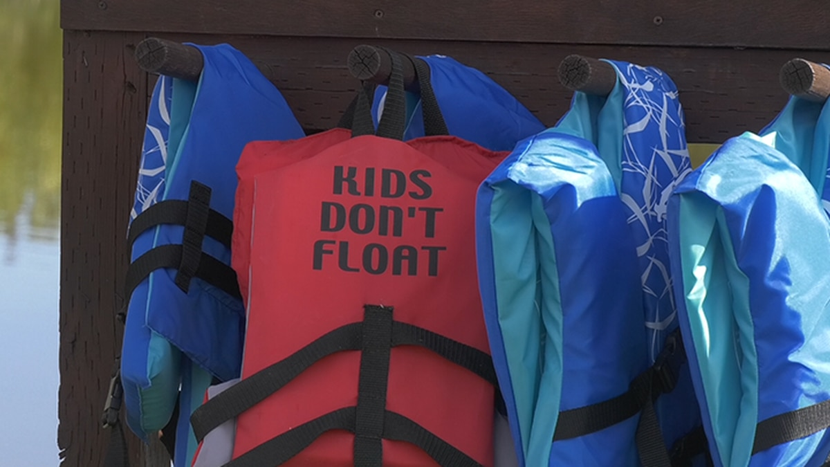 The lifejackets were donated by the Dish Cares program through Microcom Communication...