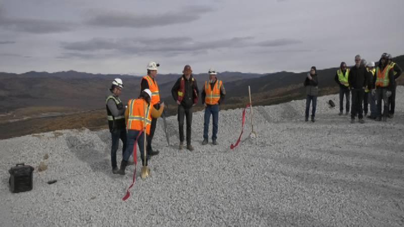 Kinross Fort Knox broke ground on Thursday, September 23, inaugurating work on its new mine.