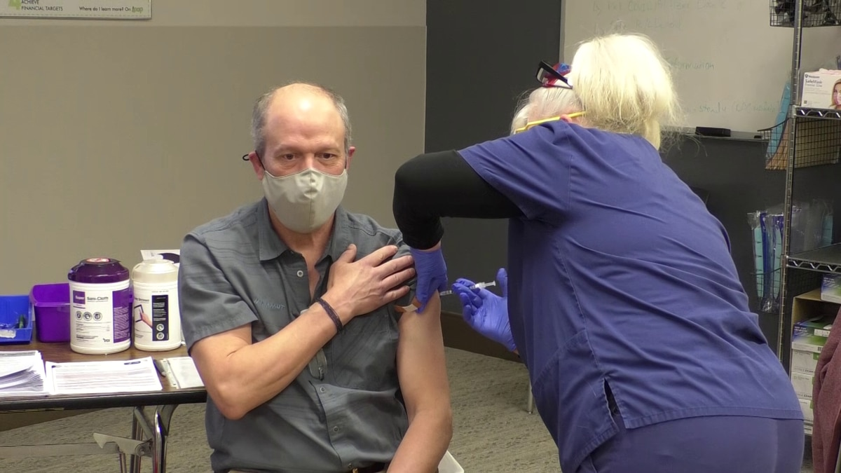 Fairbanks Public Health will be administering COVID-19 vaccines to seniors unable to leave...