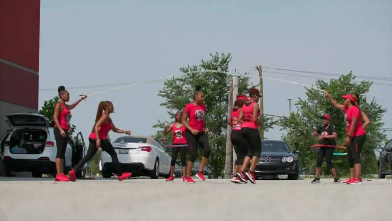 Women joined together in Chicago to share their love of a childhood favorite, Double Dutch.
