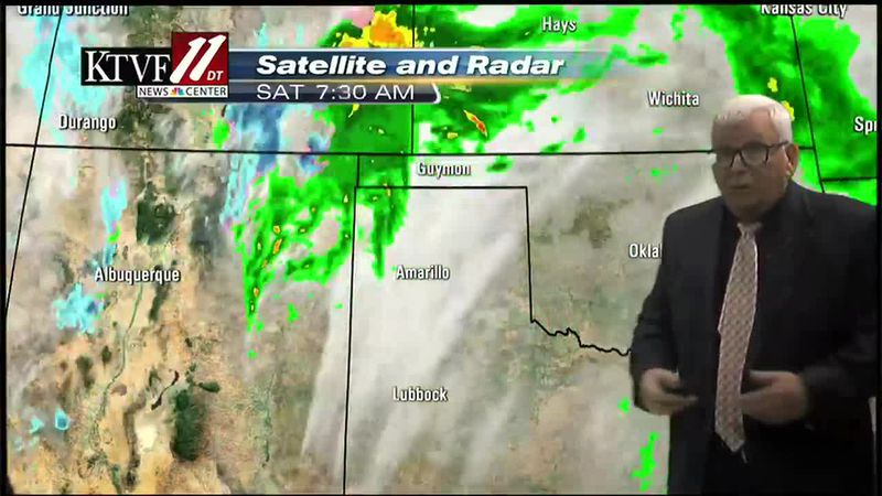 Mike Shultz weather forecast for Saturday 03/13/2021