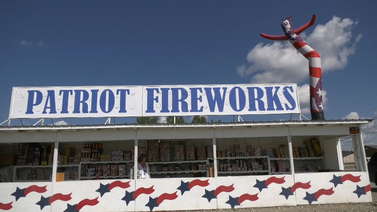 Firework stands across Alaska are helping people celebrate the Fourth of July with fireworks....
