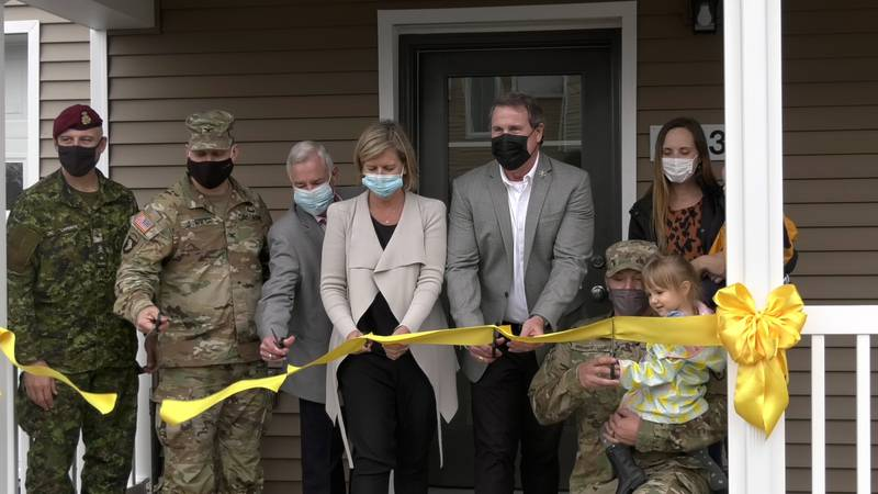 Fort Wainwright cut the ribbon on 32 new housing units on post. The buildings are part of a...