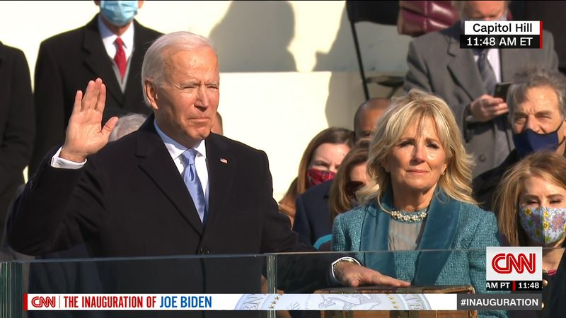On January 20th, Joseph R. Biden was inaugurated as the 46th President of the United States.
