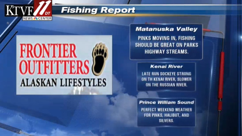 Fishing Report for 07/29/2021.