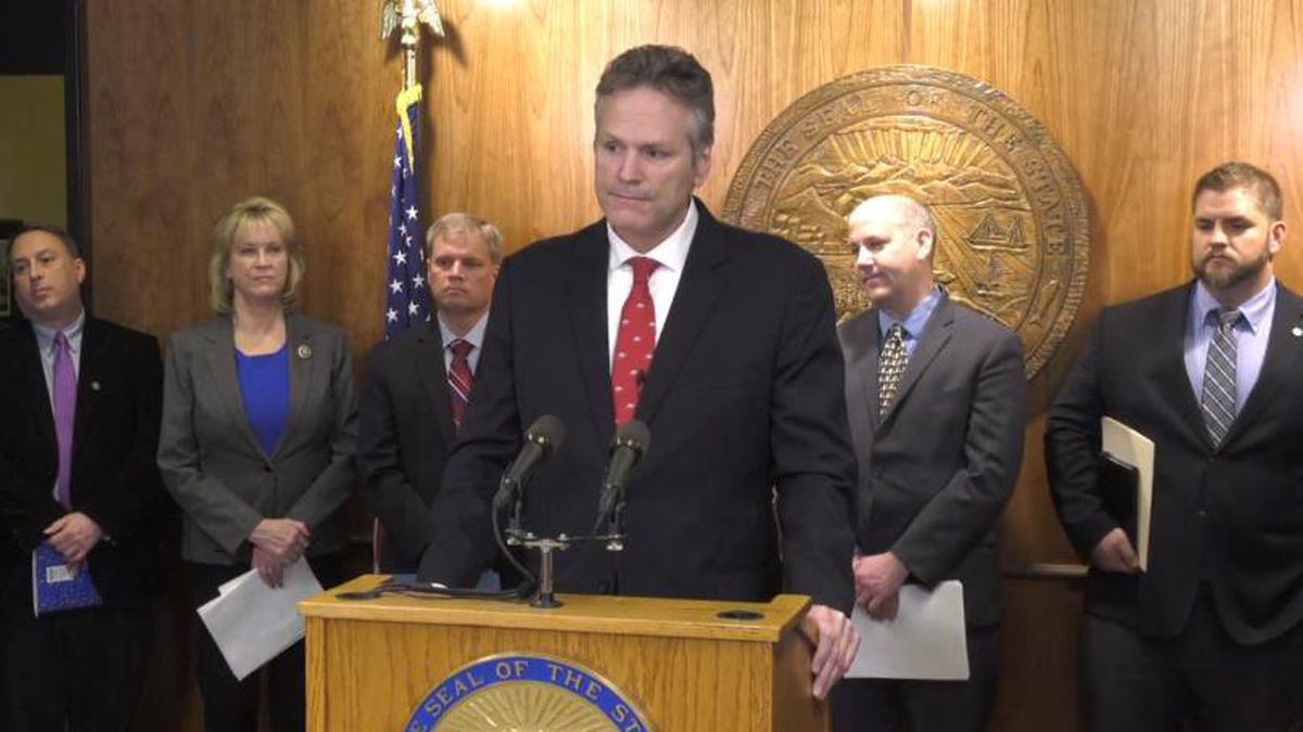 Gov. Dunleavy announces the FY 2021 budget on Dec. 11, 2019. (Image from Dunleavy Facebook Page) (KTUU)