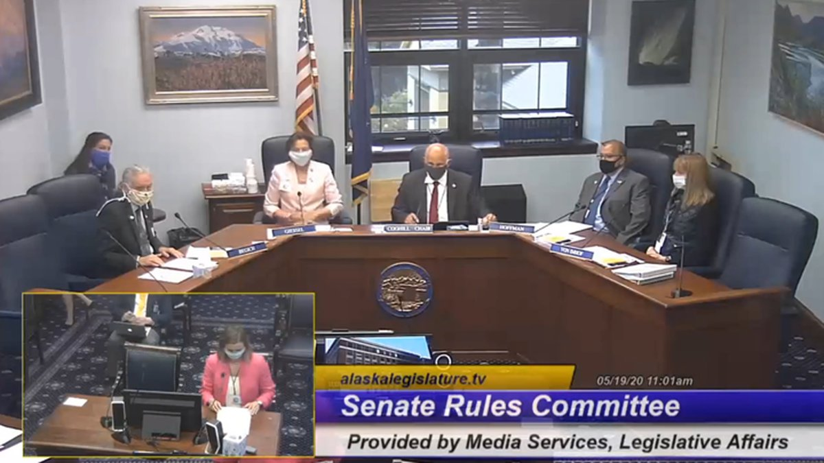 The bill seeking to ratify CARES Act appropriations was deliberated in the Senate Rules...