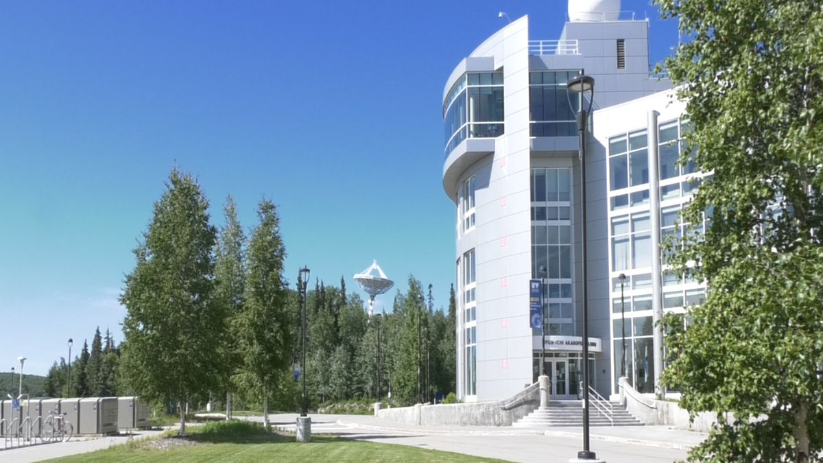 The University of Alaska Fairbanks was ranked as the nation's top school in Times Higher Education's 2020 Impact Ranking for quality education. (Jordan Rodenberger/KTVF)