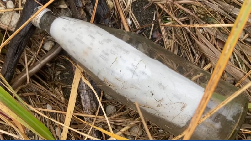 A message in a bottle from 1977. Jack Suh found it during a hunting trip in Alaska and managed...