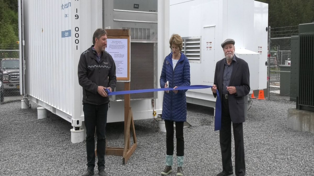 Senator Lisa Murkowski and energy leaders were in Cordova, Alaska over the weekend for the ribbon cutting of Cordova Electric Cooperative's battery energy storage system.