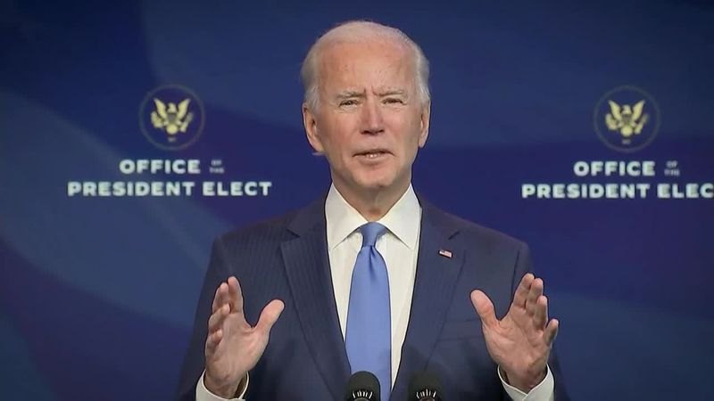 Biden touts the political independence of the COVID vaccine as he announces more cabinet...
