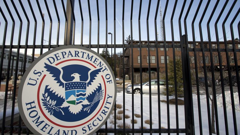 FILE - In this Feb. 25, 2015 file photo, the Homeland Security Department headquarters in...