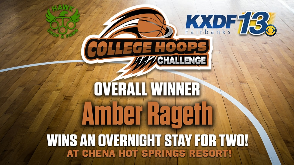 Congratulations to our 2021 College Hoops Challenge winner Amber Rageth!