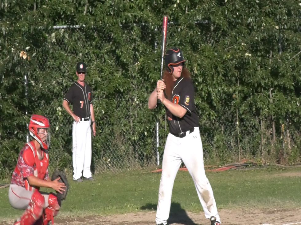 West Anchorage at the plate against the Fairbanks 49ers. (Jordan Rodenberger/KTVF/July 10, 2020)