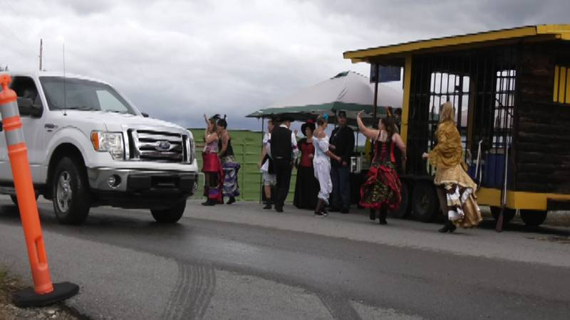 An adjusted Golden Days parade was held on Saturday, July 24, at Tanana Valley Fairgrounds.