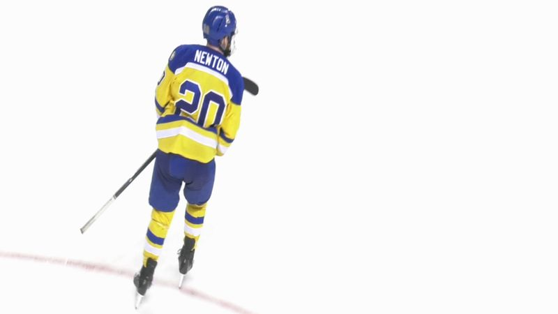 Max Newton will transfer from the University of Alaska Fairbanks to Merrimack College in...