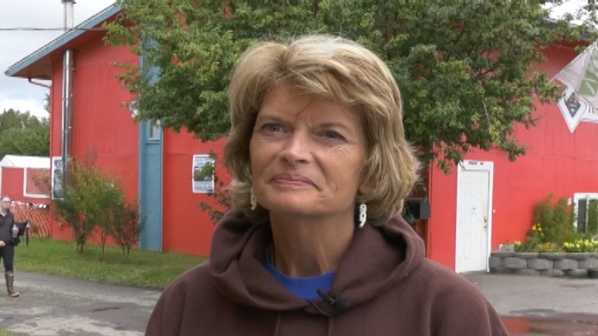 While in Fairbanks, Senator Lisa Murkowski visited the Tanana State Valley Fair and gave an update on her current travels and work in Washington D.C. (Sara Tewksbury/KTVF)