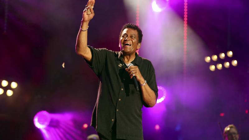 FILE - In this June 8, 2018 file photo, Charley Pride performs at the 2018 CMA Music Festival...