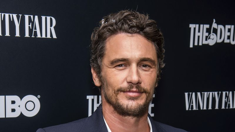 "FILE - This Sept. 5, 2019 file photo shows James Franco at the premiere of HBO's ""The Deuce""..."