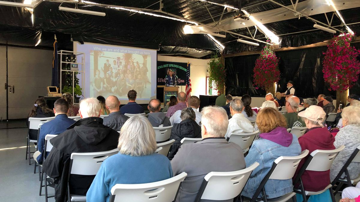 At the Chena Hot Springs 'Renewable Energy Fair,' energy leaders gathered to talk about new...