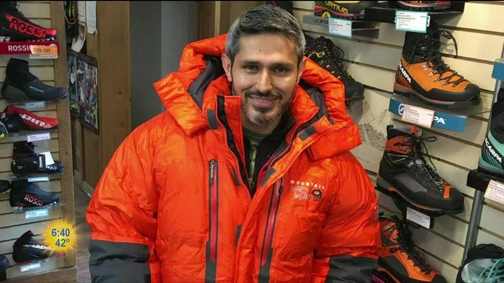 Afghanistan-born MIT grad raises money, awareness with Denali climb