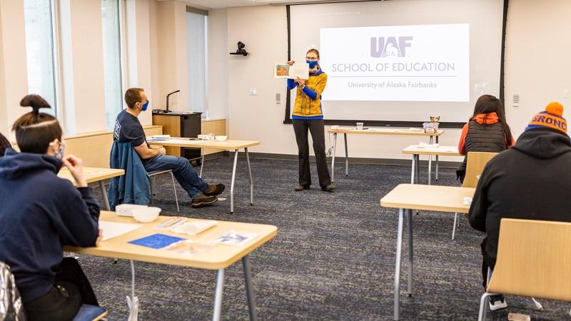 UAF School of Education training the next generation of teachers.