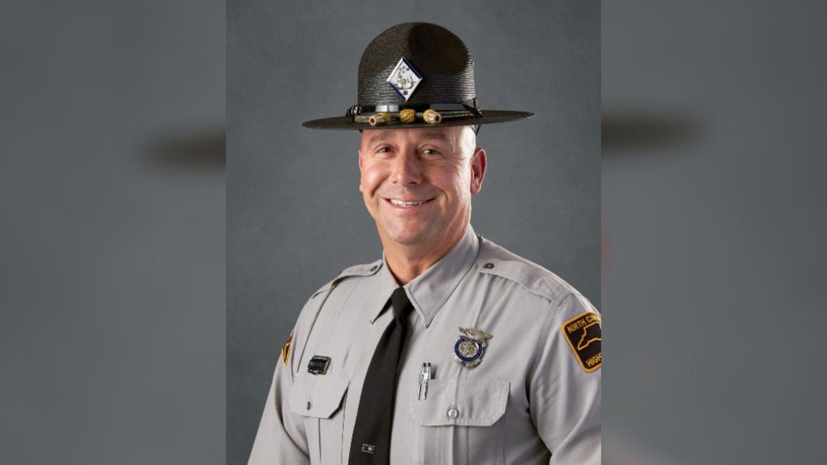 "Officials say Trooper James Montgomery, better known as ""Brent,"" of Troop C District 4 - Vance..."