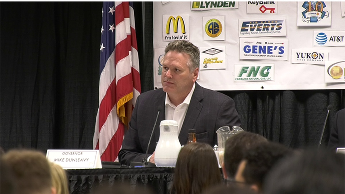 FILE PHOTO: Governor Mike Dunleavy