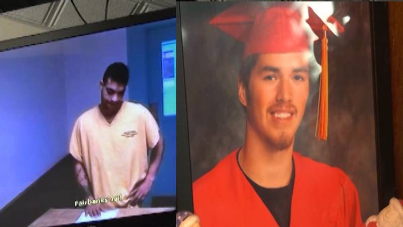 Ryder Smith (left) is charged with murder in the first degree for the killing of Peter...