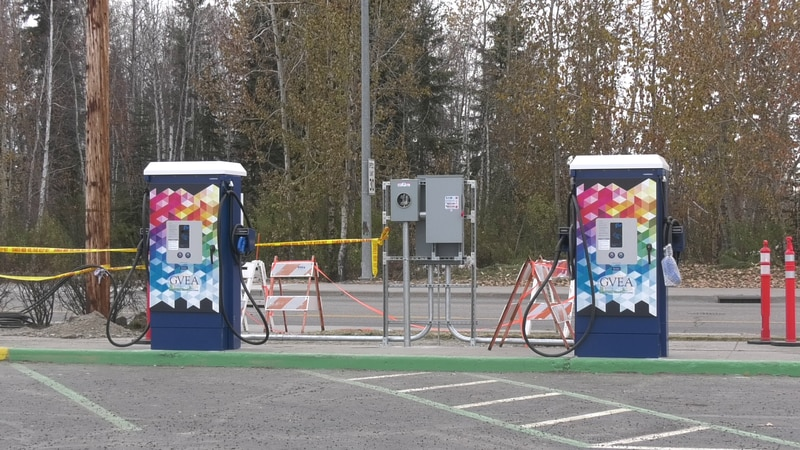 Golden Valley Electric Association is installing electric vehicle charging stations with plans...