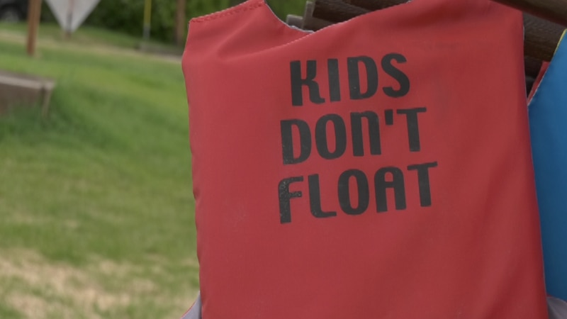 Fairbanks Memorial Hospital and the Alaska state boat safety office are stocking life jackets...