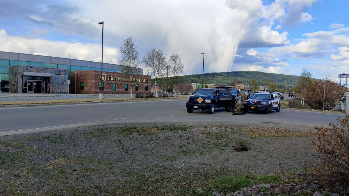 The Fairbanks Police Department, along with the Fairbanks Fire Department and Fort Wainwright's...