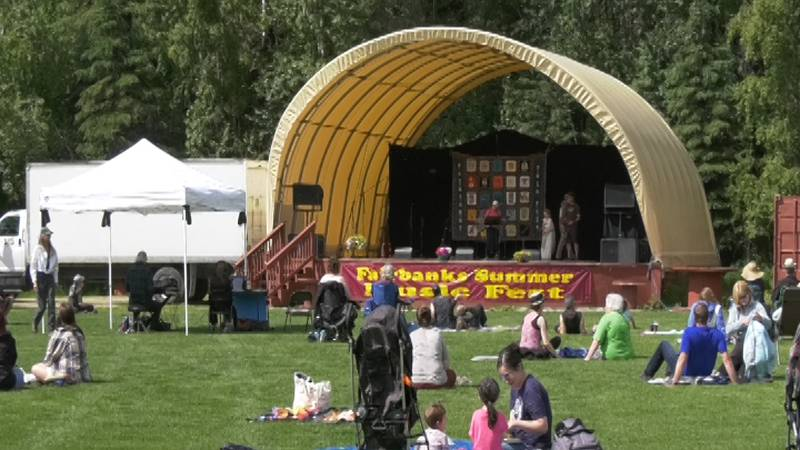 28 musical groups graced the stage at this summer's Fairbanks Folk Festival. From first time...