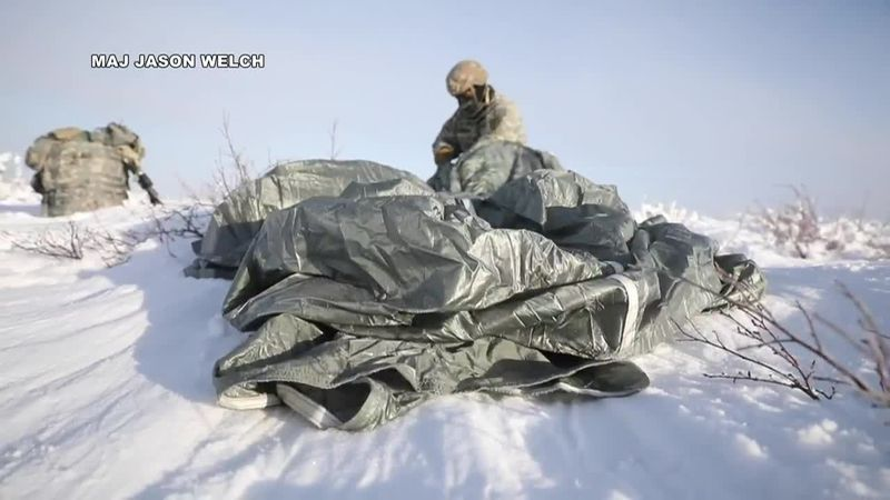Soldier takes part in February's Arctic Warrior exercise