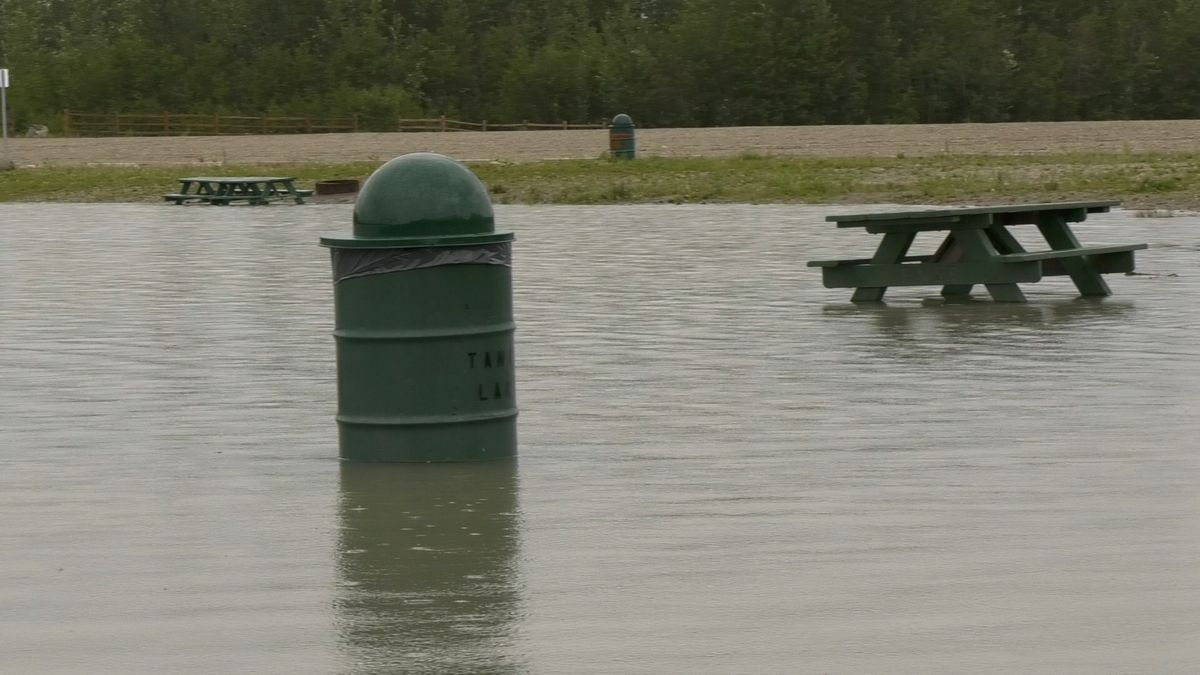 Melting snow means that flooding season will soon arrive in Fairbanks (File photo)