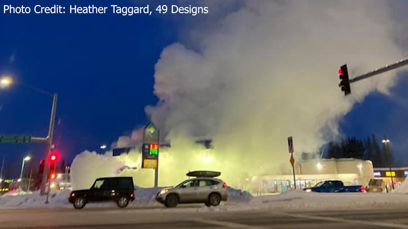 A plume of smoke was seen at the corner of University Ave. and College Rd. Friday evening when...