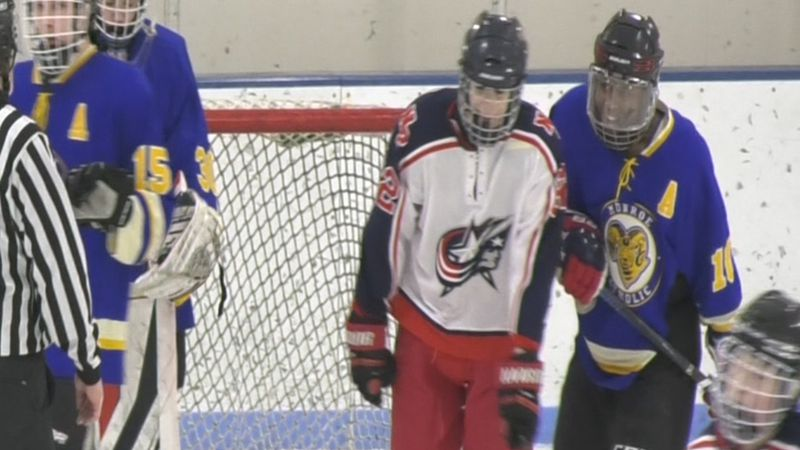 The North Pole Patriots and the Monroe Catholic Rams are preparing the for Division II State...