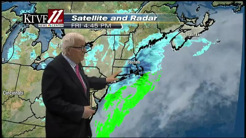 Mike Shultz's Friday weather forecast - 02/19/2021