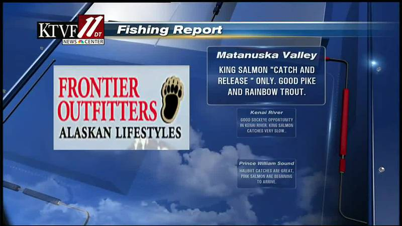 Fishing Report with Mike Shultz every Thursday on the Fairbanks Evening News.