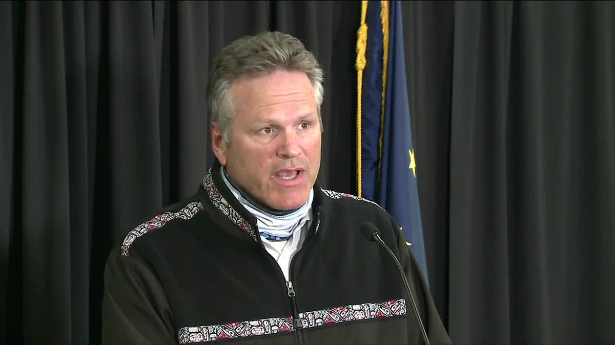 Dunleavy is urging Alaskans to be concernd about COVID-19, but not be scared.