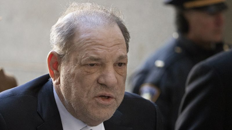 Harvey Weinstein arrives at a Manhattan court as jury deliberations continue in his rape trial,...