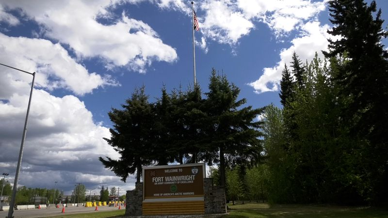 The Fort Wainwright main gate will be closed over the summer as crews work to improve the road...