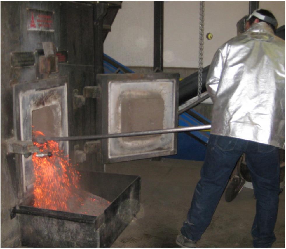 Biomass greenhouse boiler