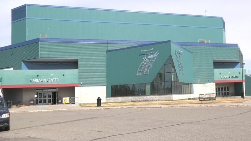 University of Alaska hockey is hoping to return to the Carlson Center for the 2021-22 season...