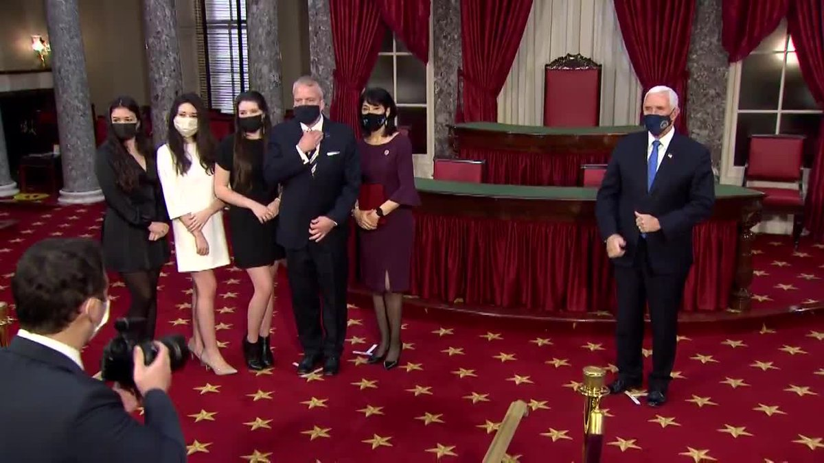 U.S. Senator Dan Sullivan sworn in to second term in U.S. Senate on Sunday