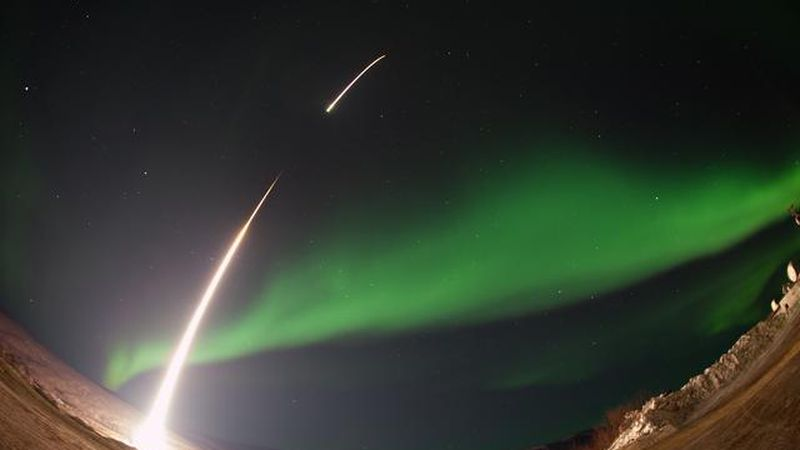 NASA's Black Brant XII sounding rocket will launch this Saturday in order to conduct an...
