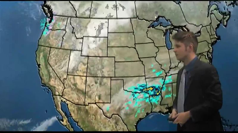 Ryan Osborne filling in for Julie Swisher with the daily weather forecast for - 02/25/2021