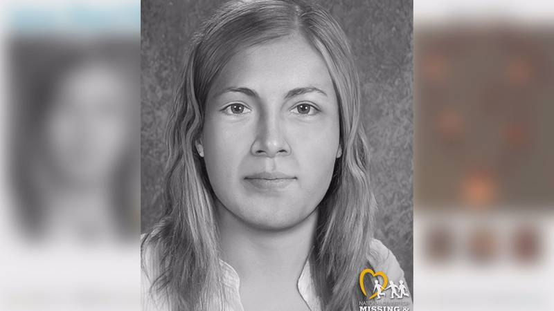 An updated forensic composite by the National Center for Missing and Exploited Children in...