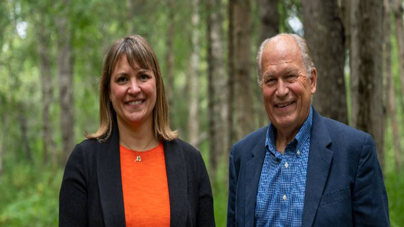 Former governor Bill Walker and his running mate Heidi Drygas will be trying for a...