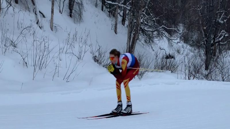 A number of interior athletes competed at the Alaska State Ski Championships